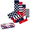 4-Pack Happy Socks Stripe Socks Gift Box