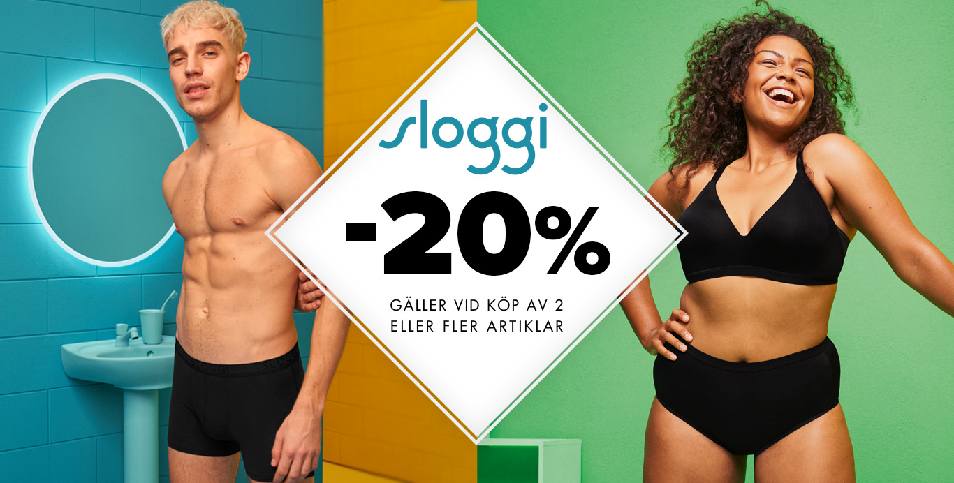 sloggi 20% - uppercut.se